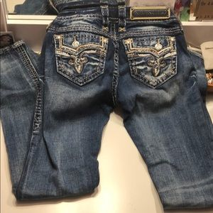 Rock revival jeans size 24 straight!